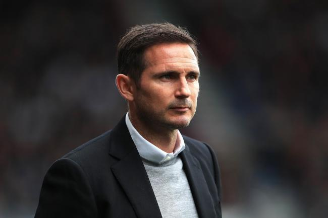 Derby County manager Frank Lampard (PA)
