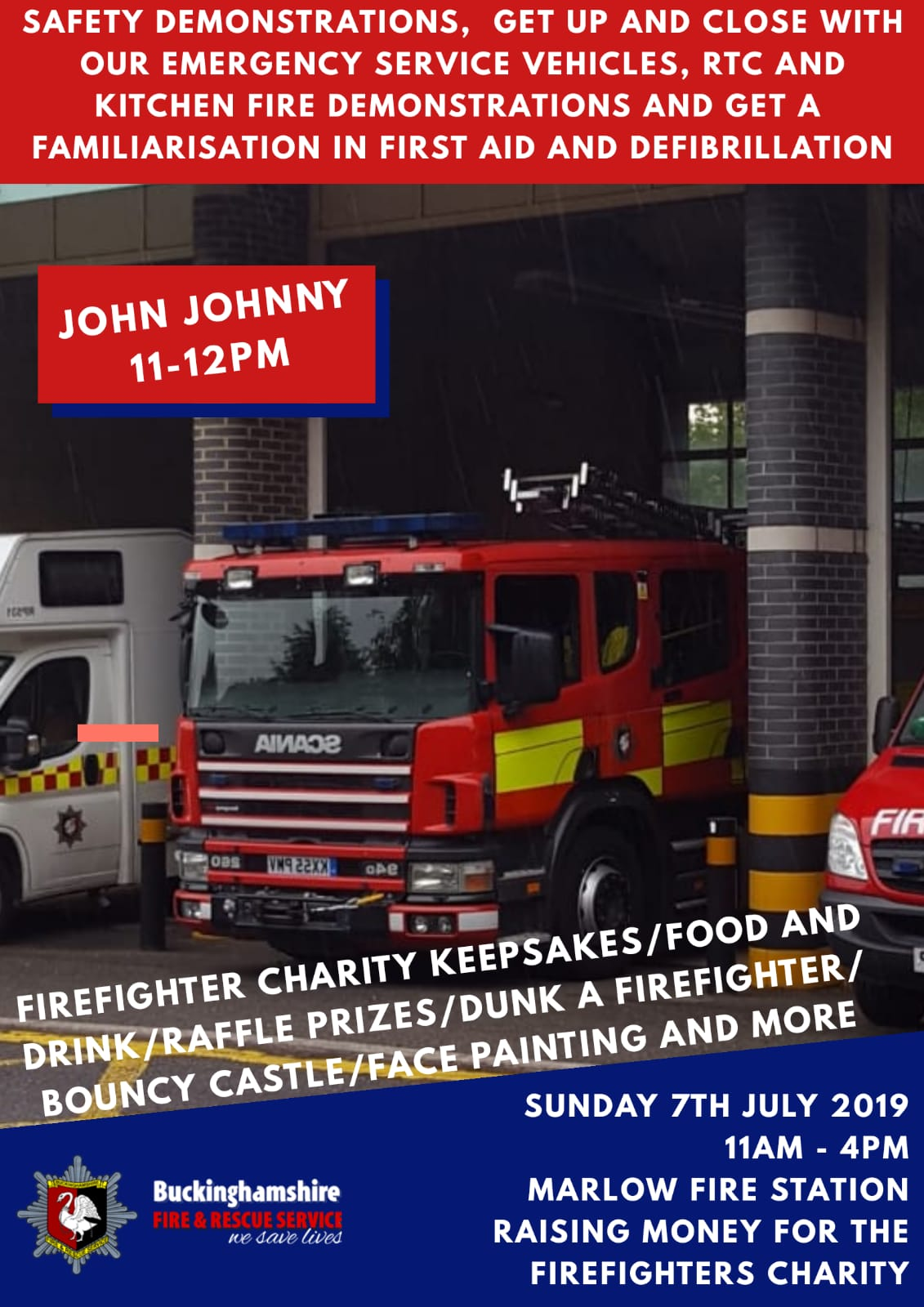 Marlow Fire Station Charity Open Day