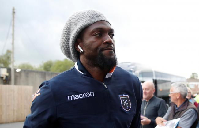 Emmanuel Adebayor has been linked with a return to the Premier League. Picture: Action Images