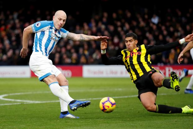 Aaron Mooy has been linked with a move to Watford. Picture: Action Images
