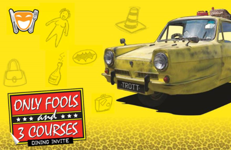 Only Fools and 3 Courses - Best Western Plus Grim's Dyke Hotel 25th October