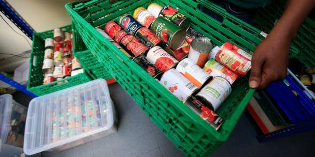 One in six parents has children living in food poverty in London.