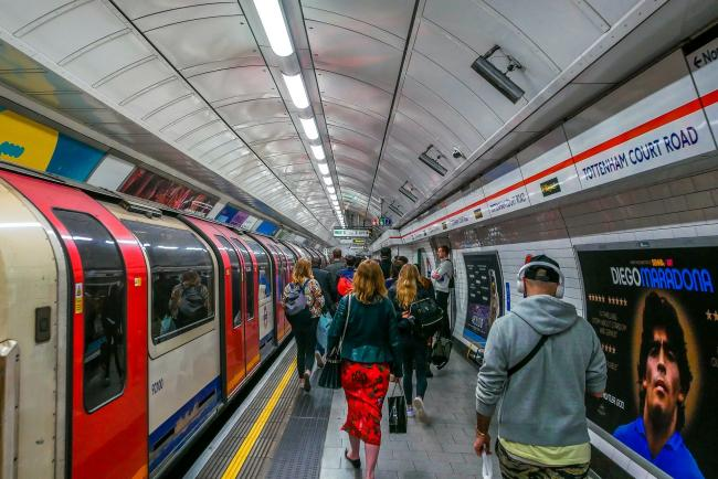 Rikard Moen, head of occupational health at TfL, said he would be prepared to live on the London Underground