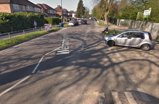 Wemborough Road in Stanmore, where the crash happened. Photo: Google Street View