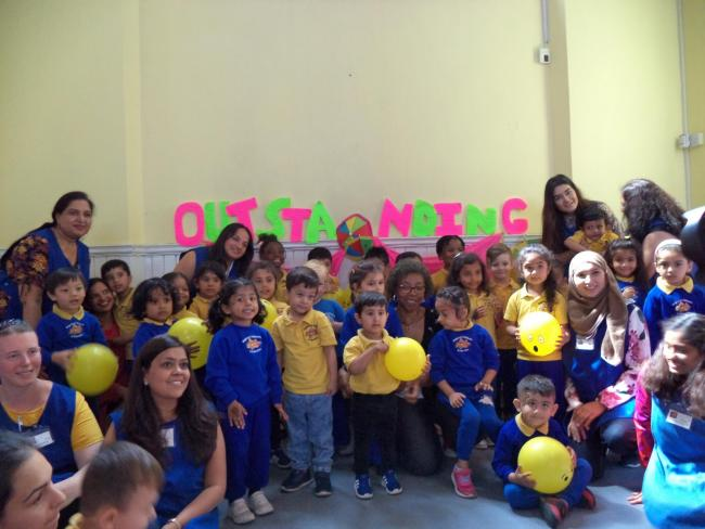 Brightstart Childcare recieved 'outstanding' Ofsted report after 16 years of operating