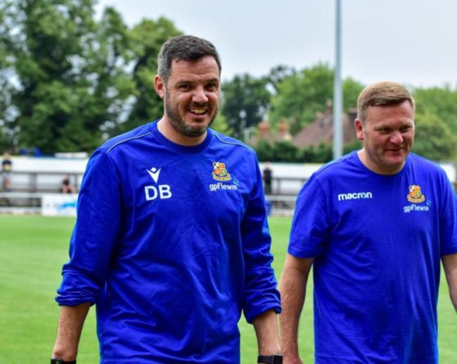 Dean Brennan oversaw Wealdstone's narrow 1-0 loss at home to League One side Wycombe Wanderers.Picture: Dan Finill - DFinill Photography