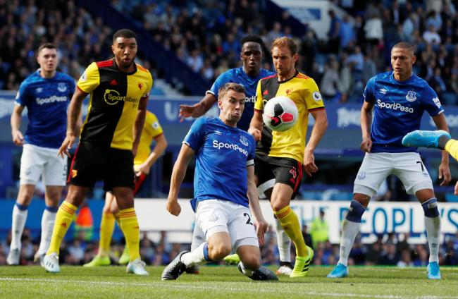 Watford lost 1-0 at Goodison Park in their first away match of the season. Picture: Action Images