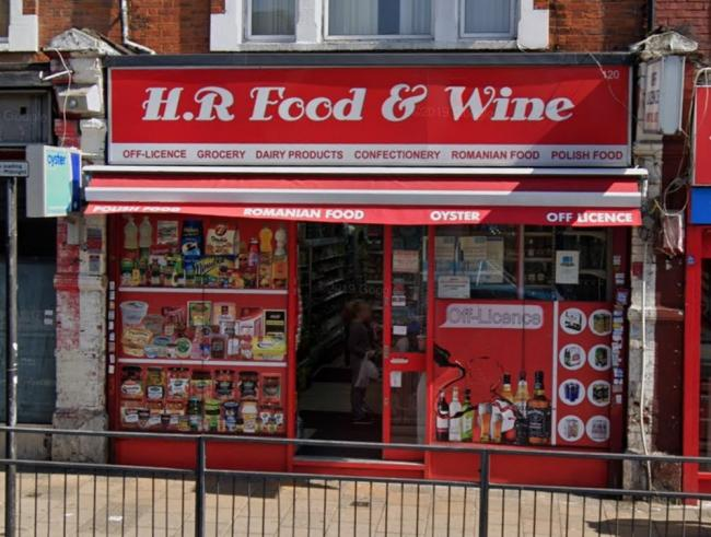 HR Food and Wine in Wealdstone (Photo: Google Maps)