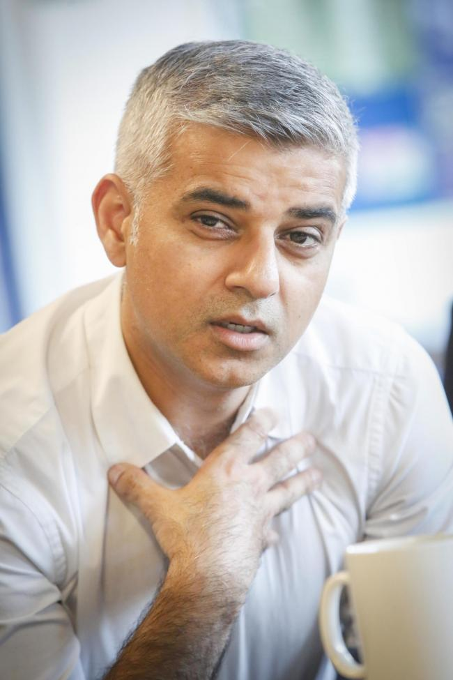 "Sadiq Khan: ""Westminster is either incapable or unwilling to get to grips with the challenges faced by cities and regions."""