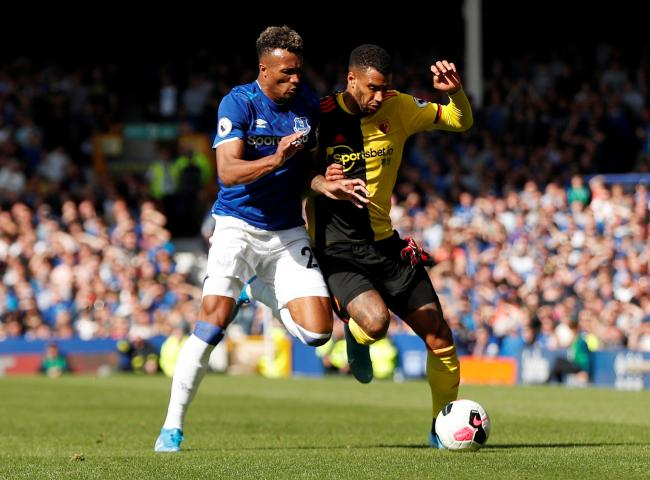 Etienne Capoue at Everton this season. Picture: Action Images