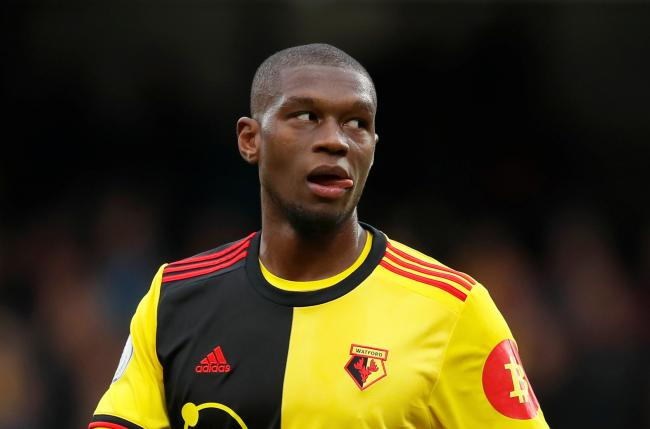 Christian Kabasele felt Watford should have beaten Sheffield United. Picture: Action Images