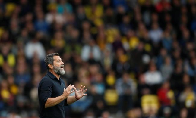 Quique Sanchez Flores would rather his players stayed than left for international break. Picture: Action Images