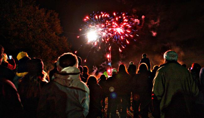 The Cassiobury Park fireworks display will now begin at 8pm