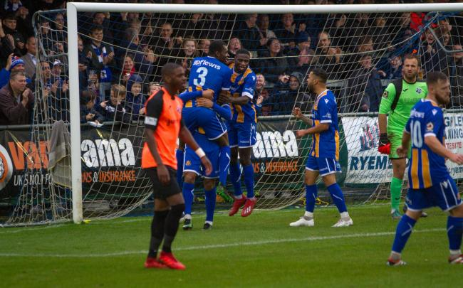 Wealdstone overcame Tonbridge Angels to extend their lead to seven points at the top of the National League South. Picture: MontImageMedia