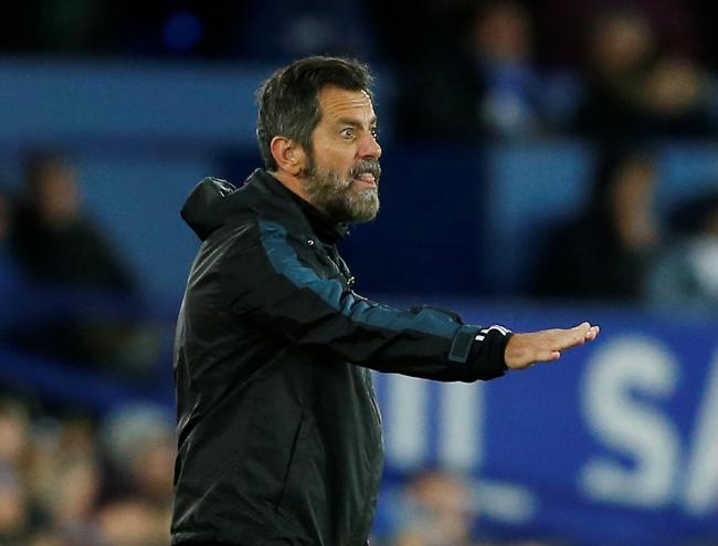 Quique Sanchez Flores thinks his players are affected by pressure. Picture: Action Images