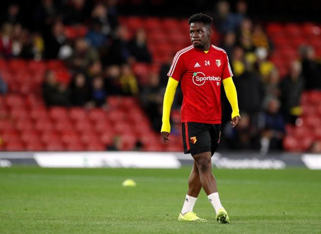 Tom Dele-Bashiru before a Carabao Cup game. Picture: Action Images