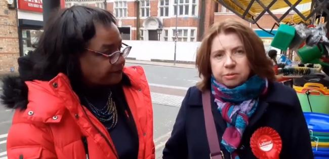 Dianne Abbott (left) and Pamela Fitzpatrick (right)