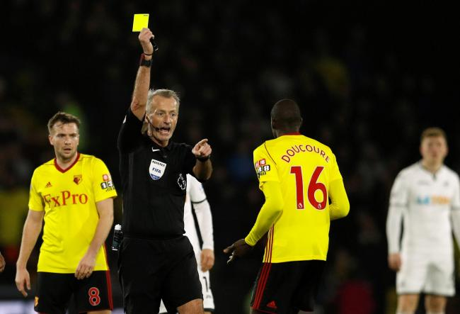 Martin Atkinson books Abdoulaye Doucoure. Picture: Action Images