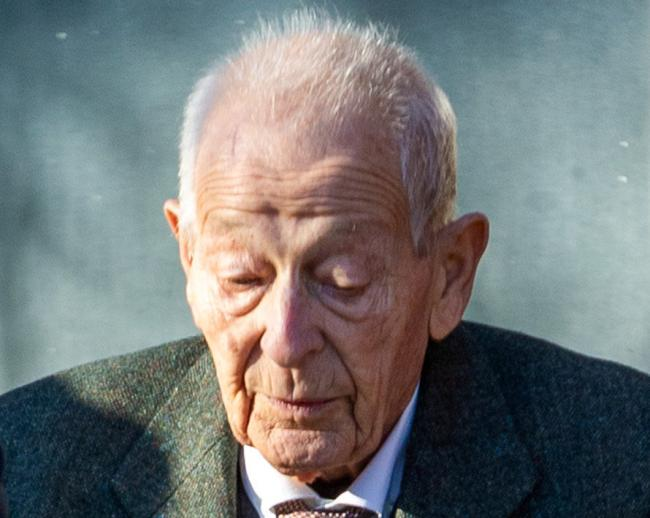William Heagren, 87, at Harrow Crown Court in North West London before his death (Photo: SWNS)