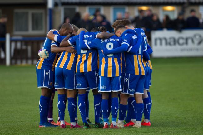 Wealdstone went seven points clear of Slough Town after victory over Eastbourne Borough. Picture: MontImageMedia