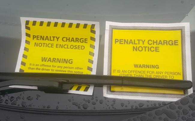 People will be given tickets for parking contraventions (Photo: Brent Council)