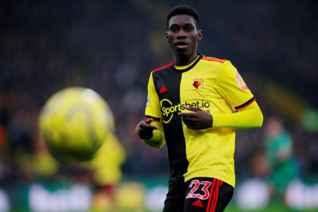 Watford have turned down an offer from Manchester United for Ismaila Sarr. Picture: Action Images