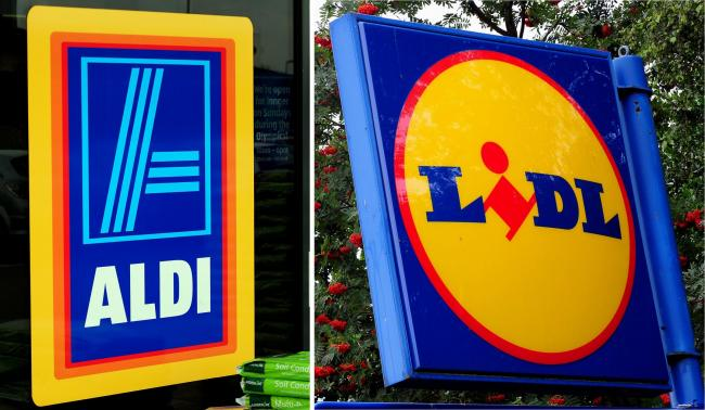 Lidl and Aldi both grew their sales in the Christmas shopping period