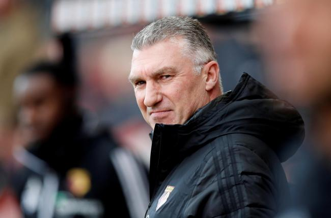Nigel Pearson during Watford's win over Bournemouth. Picture: Action Images