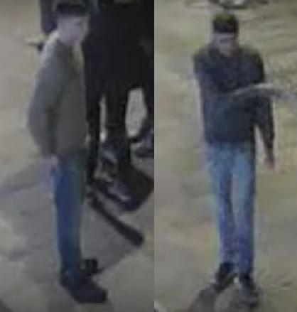 Do you recognise these two people? Photo: Herts Police