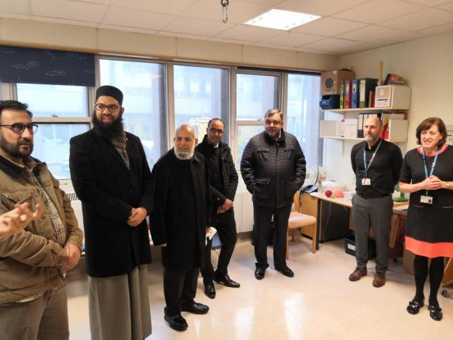 Harrow Central Mosque donated thousands for specalist equipment in Northwick Park Hospitlal