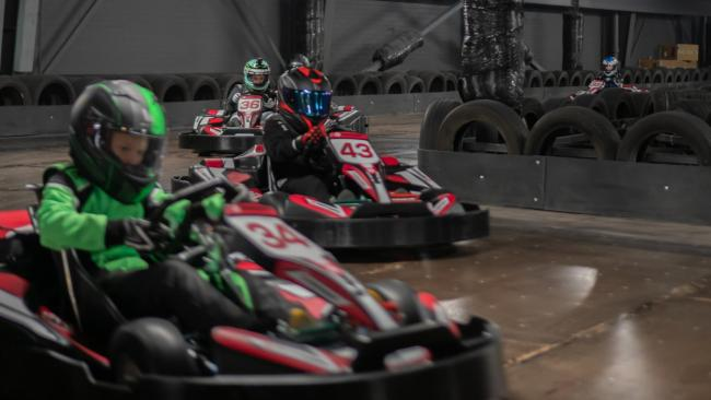 A new go karting track will open in April