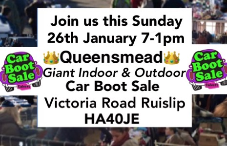 Queensmead Giant Indoor & Outdoor Car Boot Sale