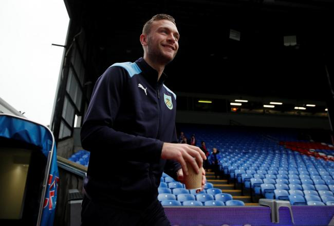 Ben Gibson has made just one appearance for Burnley this season. Picture: Action Images