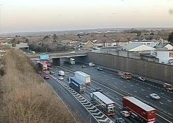 M25. Photo: Highways England