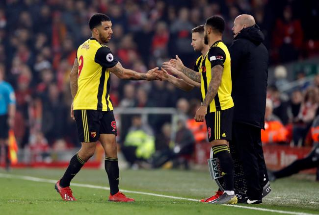 Andre Gray, Tom Cleverley and Troy Deeney all appeared on a BBC Three documentary about racism in football. Picture: Action Images