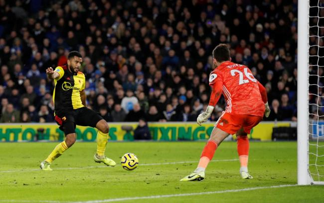 Adrian Mariappa scored an own goal in his last game for Watford. Picture: Action Images