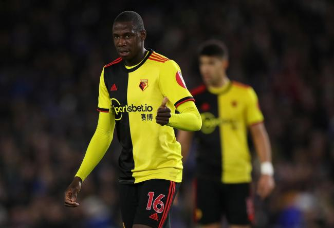 Abdoulaye Doucoure wants to become as good as Patrick Vieira. Picture: Action Images