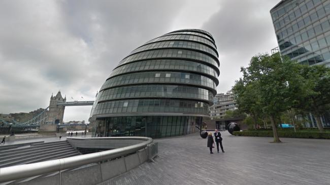 City Hall, office of the Mayor of London (Photo: Google Maps)