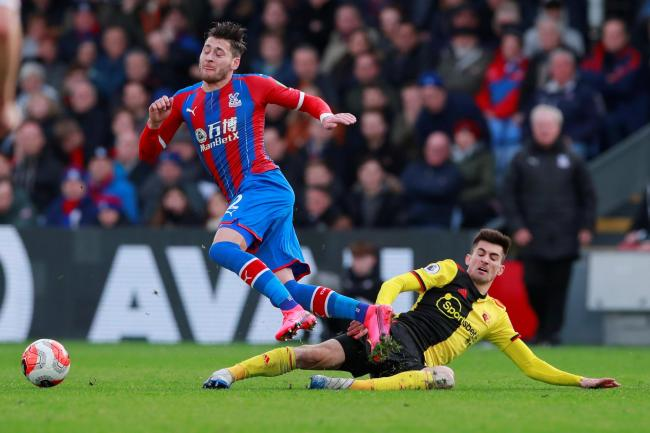 Ignacio Pussetto playing against Crystal Palace. Picture: Action Images