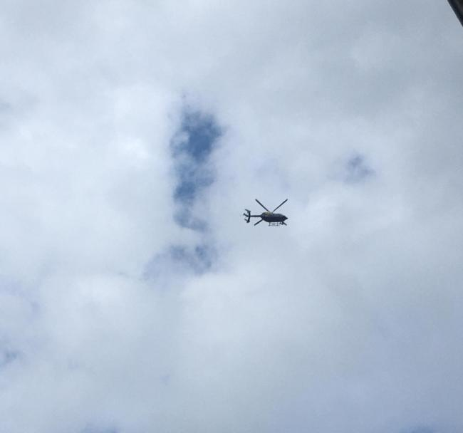A boy, 11, was found after a helicopter search (Photo: Daisy Smith)