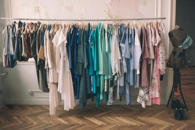 The average number of items in a woman's wardrobe is 103. Photo: Yulia Grigoryeva/Shutterstock