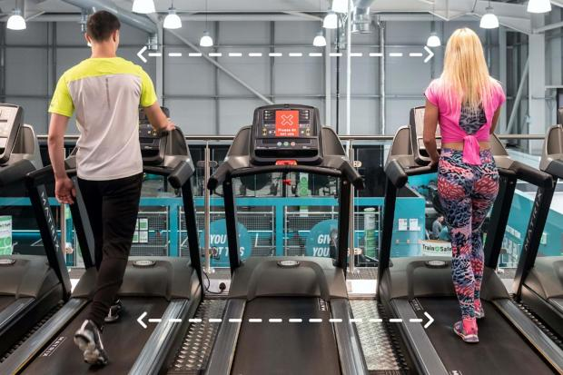 Harrow Times: Social distancing: Pure Gym confirms new rules and what centres will be like when they reopen. Picture: PureGym
