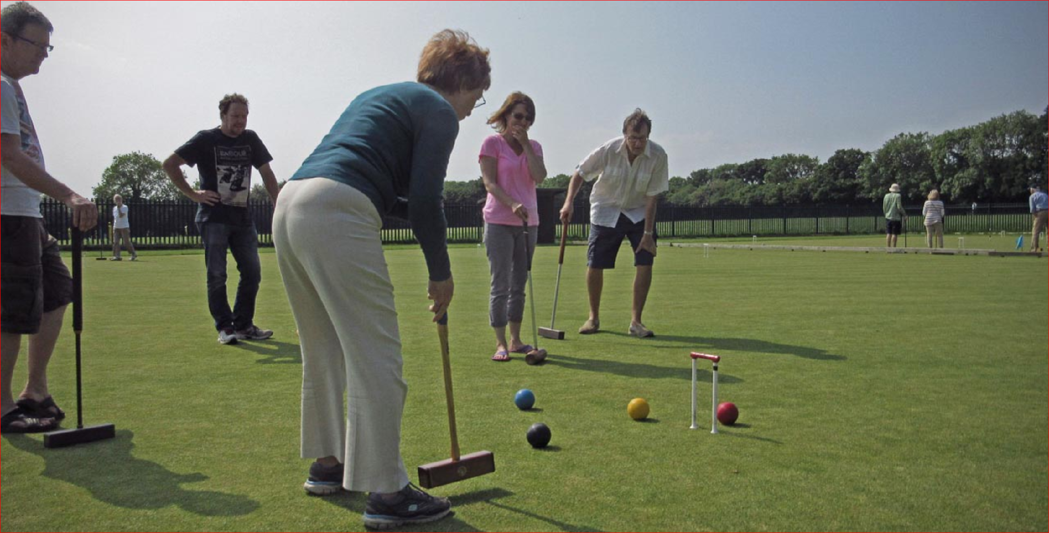 Croquet Come and Try Day at High Wycombe Croquet Club