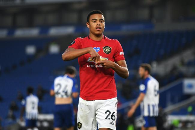 Manchester United's Mason Greenwood received praise from his manager Ole Gunnar Solskjaer