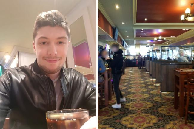 Reporter James Cowen went to have a pint at The Moon Under Water Wetherspoon pub in Watford. Photos: James Cowen