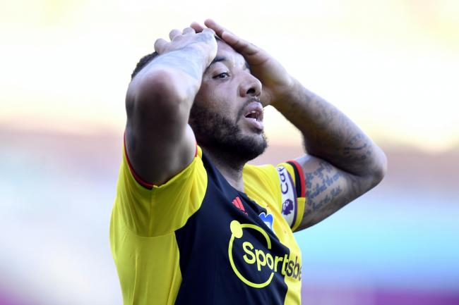 Captain Troy Deeney was unable to keep Watford in the Premier League