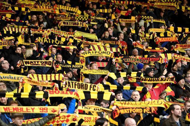 Watford fans were optimistic about the Hornets' next season in the ChampionshipPhoto: Action Images