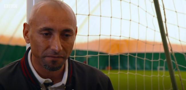 Heurelho Gomes spoke to the BBC about his journey with his Christian faith. Credit: BBC