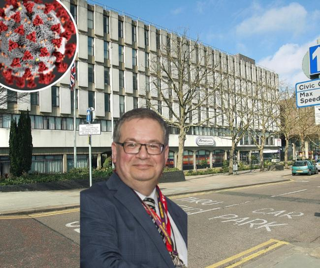 Cllr Graham Henson released a statement on Harrow's coronavirus situation (Photo: Newsquest/Harrow Council/Pexels)