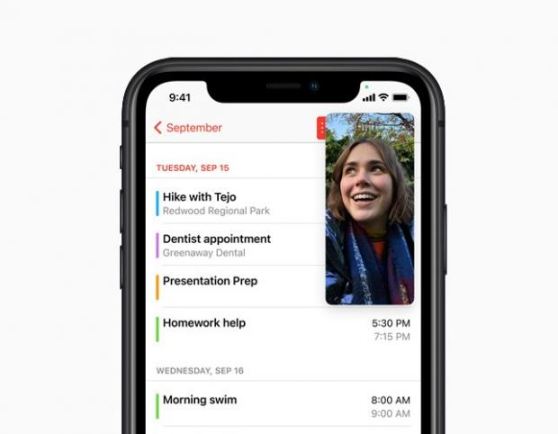 Harrow Times: With Picture-in-Picture, users can watch a video or take a FaceTime call while using another app. Picture: Apple